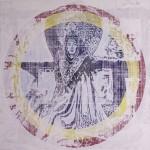 Cobra Woman#1, 2010, mixed media on board, 1,2x1,2m copy