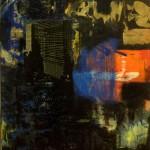 Crescendo, 2000, enamel and silkscreen on board, 1,2x0,9m