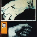 Hands, 1998, mixed media, 1,2x0,9m