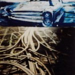 Methods of Transport, 1999, oil and enamel on board, 1,2x0,85m