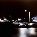 Night Drive, 2010, Enamel On Board, 40x60cm