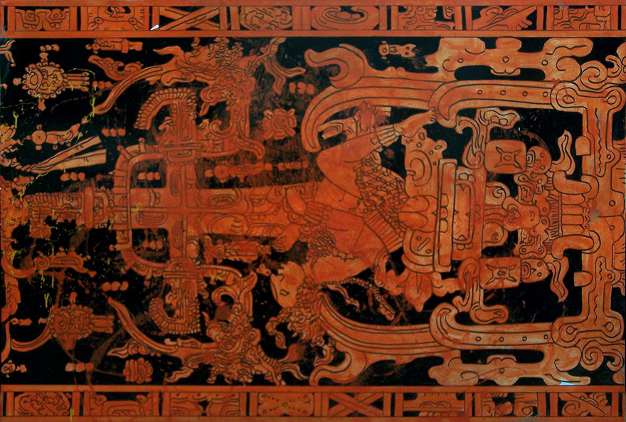Palenque Enamel On Board 1,2x1,8m 2012