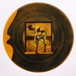 Record 13 Intaglio And Chine Colle 30x30cm 1997