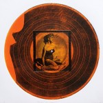 Record 17 Intaglio And Chine Colle 30x30cm 1997
