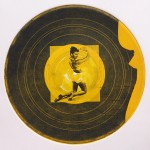 Record 9 Intaglio And Chine Colle 30x30cm 1997