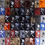 Revelation Of The Veiled pt2(66panels), 2011, 1,14x1,53m, Mixed-media Print