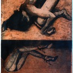 Sleep Etching 59x45cm 1997