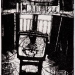 TV1 Etching 20x13cm 1992