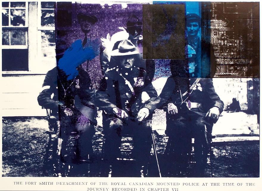 Fort Smith Detatchment 2 Mixed-media Print 45x60cm 1996