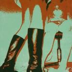 In Sector 17 no1,3 , silkscreen, 20x15cm, 2006