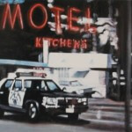 Motel Sign, 2005, enamel on board, 0,45x0,6m