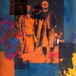 Reverend Stringer And His Wife no5 84x60cm 1996 Mixed-media Print