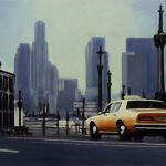 Yellow Cab At Dawn