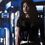 Late Night Shopping3, 2012, Enamel On Board, 45x60cm