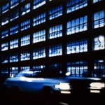 Parking Garage At Night1 , 2012, Enamel On Board, 40x60cm