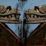 Quetzalcoatl 2 Enamel On Board 1,2x1,8m 2012