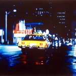 Yellow Cab, 2008, oil on canvas, 0,75x0,9m